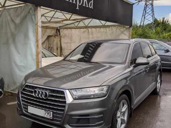 Выездной осмотр Audi Q7 в Москве - ОСА - Общество содействия автомобилистам - Услуги эксперта во всех ситуациях с автомобилем